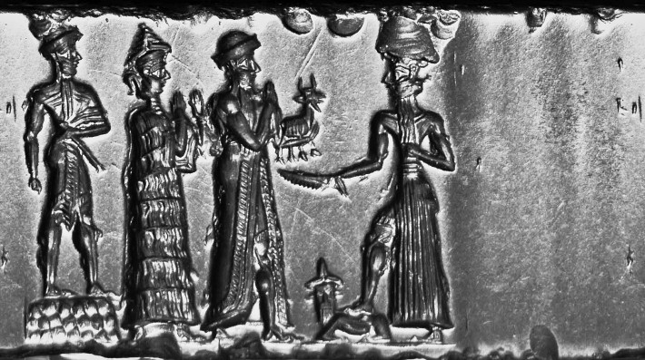 Cylinder_Seal,_Old_Babylonian,_formerly_in_the_Charterhouse_Collection_09